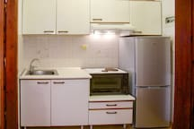 Our functional kitchen