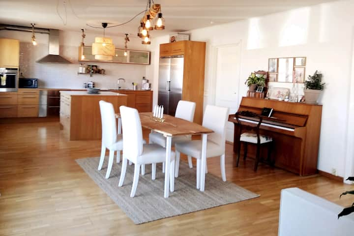 Lovely apartment close to beach and nature