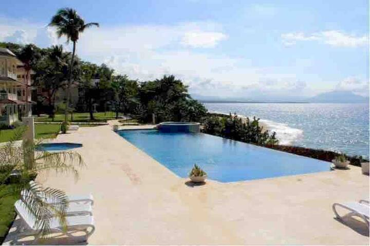 Penthouse Hispaniola Beach OceanView Condo  2 Bdrm