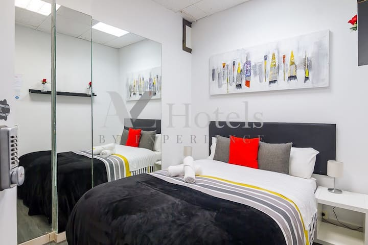 Great indiv room 10 min from the airport/Ifema 7L