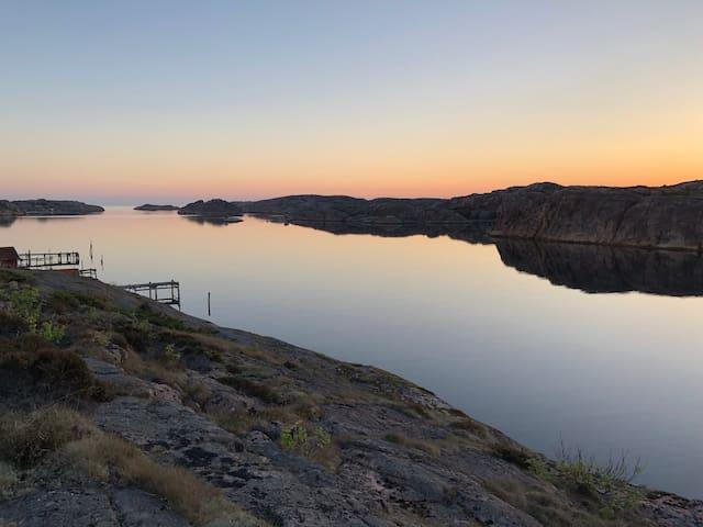 Boende direkt på klipporna med hänförande utsikt