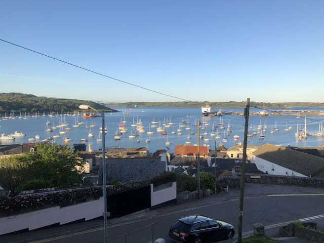 Falmouth- Stunning sea views in the centre of town