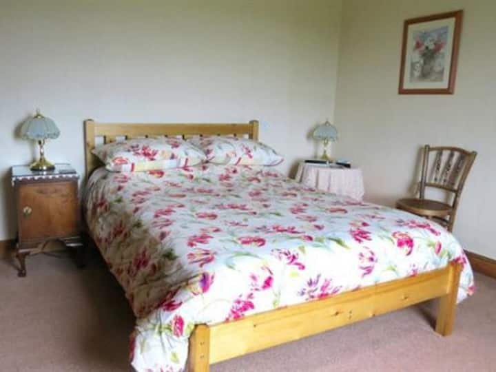 Double room at Tyddyn Chambers Farmhouse B & B