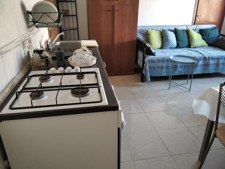 Casa strategica  con cucina e bagno privato