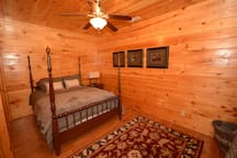 Queen bed basement