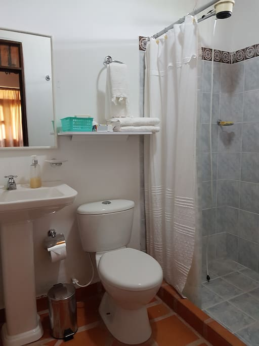 Baño privado habitación#1