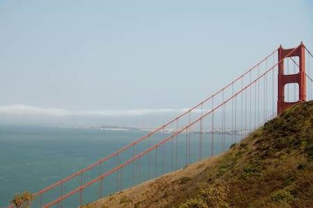 Welcome to San Francisco : )