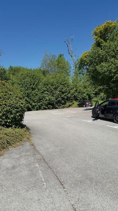 Parking sur le côté
