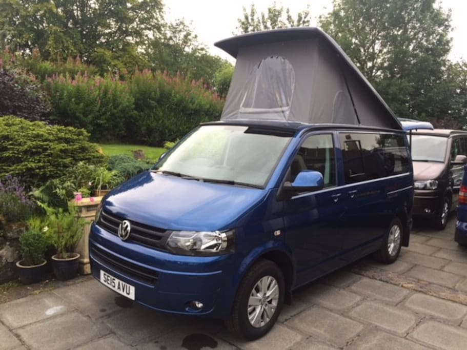 VW T6 Camper van pop top