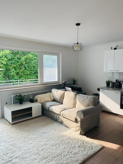 Moderno apartamento de 1 habitación, en una zona tranquila, junto a MTZ