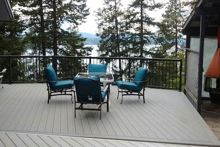 Main floor overlooking lake - Coeur d'Alene