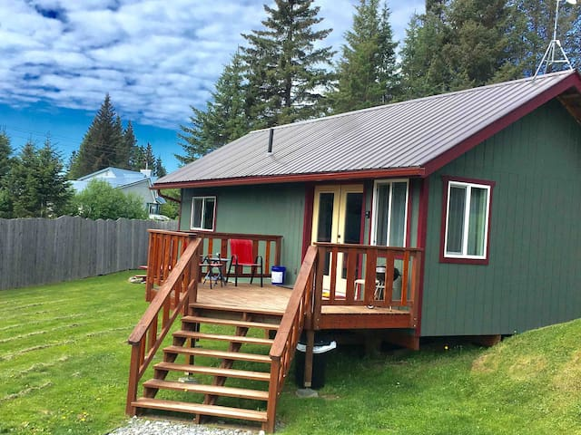 The Trailside Cabin- In Town!