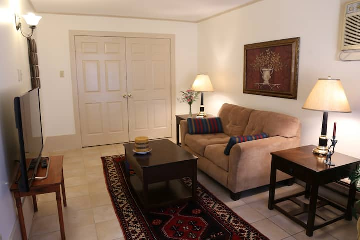 Fully furnished 2 BR home