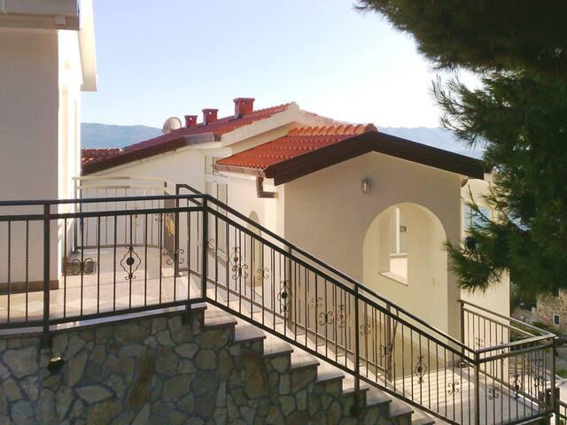 Rooms in Villa Marta by the sea in Brist, Croatia