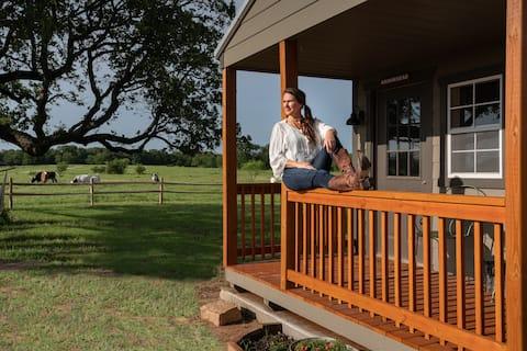 ARROWHEAD cabin on 160 acre guest ranch!