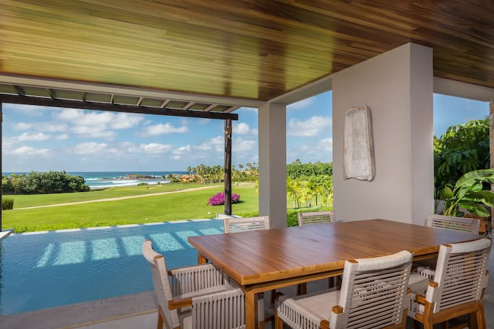 3 Bd condo with Private Pool + Ocean View