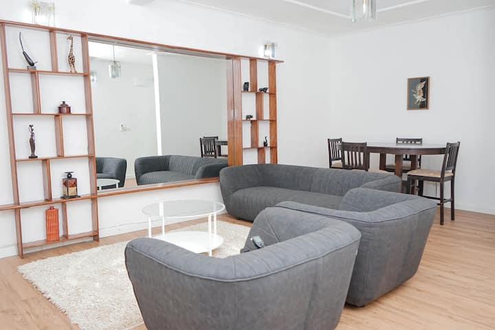 Appartement 2 chambres avec petit Déjeuner offert