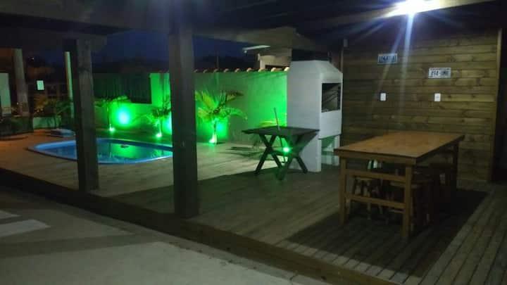 """Casa """"la uruguaya"""" com piscina"""