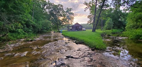 Cabin on the Creek, 120 Acres