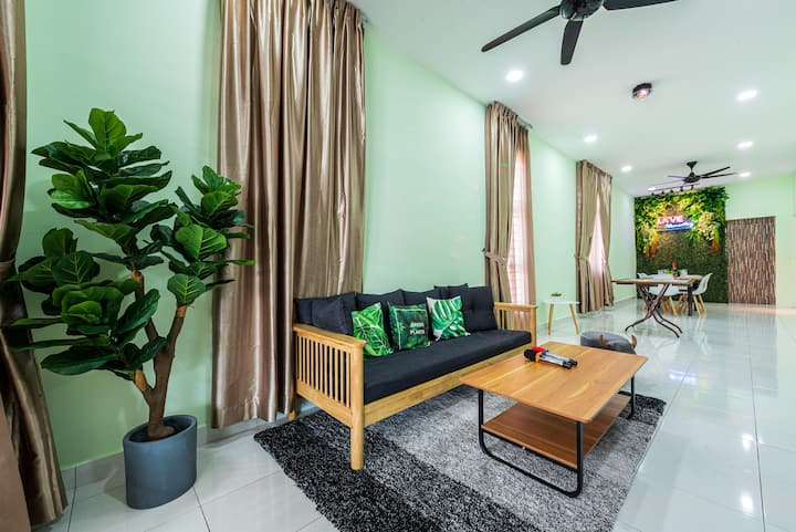 Cozy Place 2 Bedroom 4-6paxs, 8mins to Waterpark
