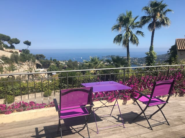Great villa with an amazing view in Villefranche - Villefranche-sur-Mer - Ev