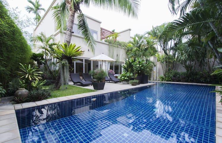 LUXUARY VILLA  BANGTAO PRIVATE POOL - Tambon Choeng Thale - Villa