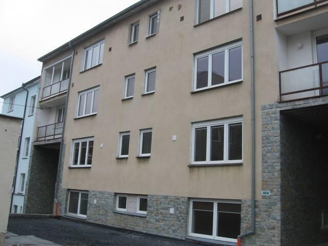 Nově zrekonstruovaný byt v centru s parkováním.