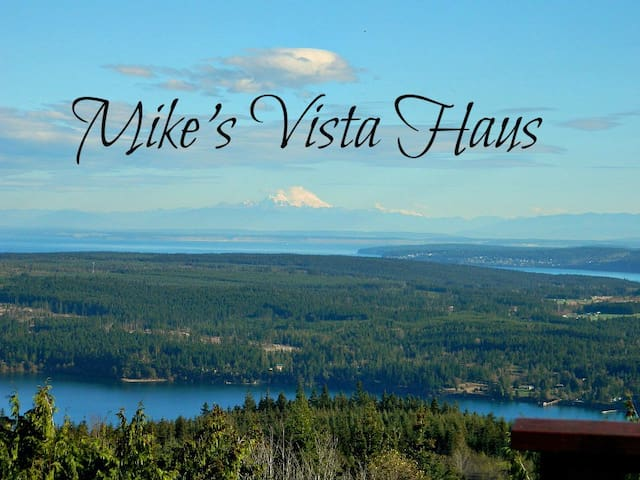 Mike`s Vista Haus; Sweeping water and valley views
