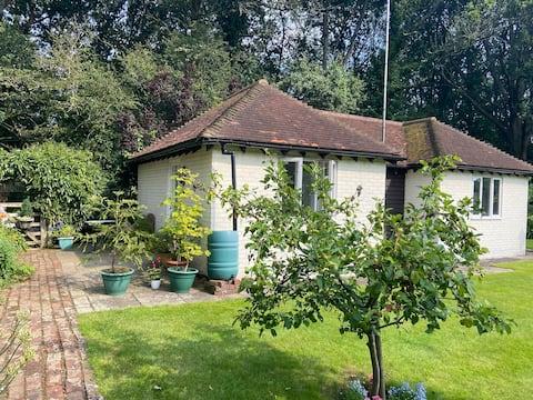 Stylish cottage in tranquil woodland setting