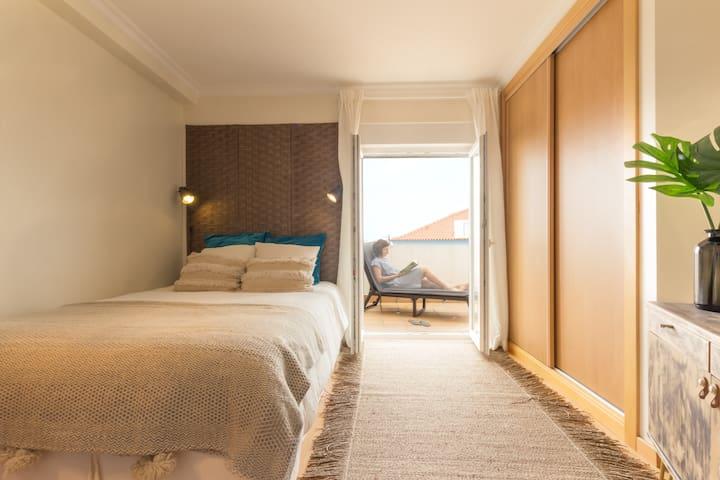 Quarto - cama de casal
