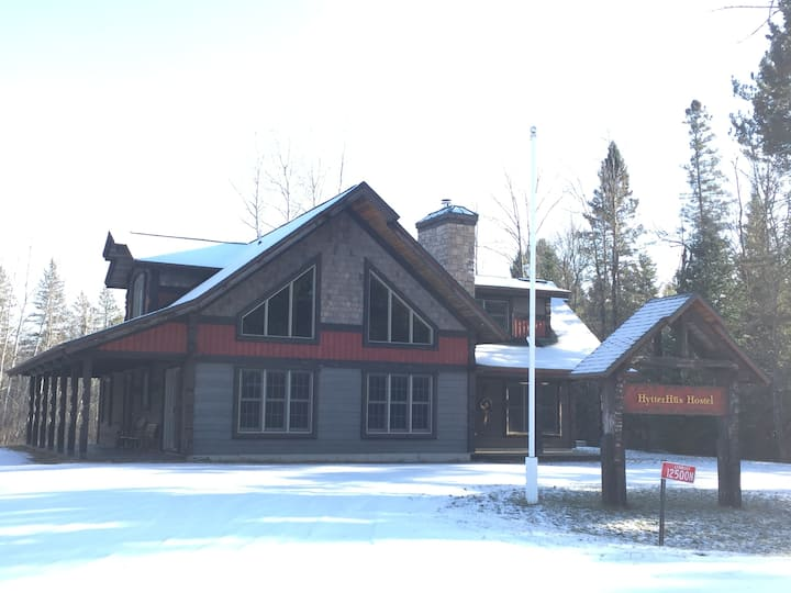 Hytter Hus Hostel near Birkie and CAMBA trails