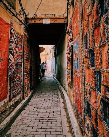 Fèz Lmadina. La plus belle ville au Maroc.