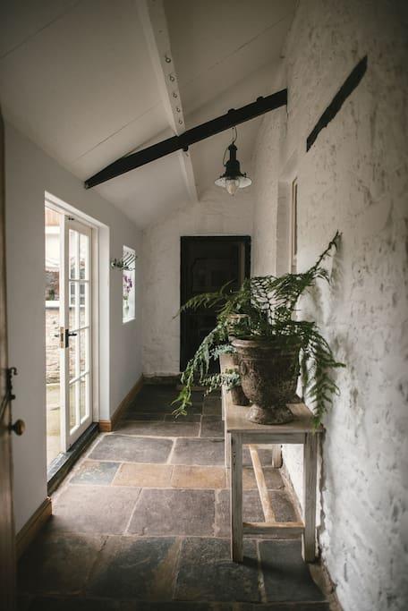 Hallway & boot room