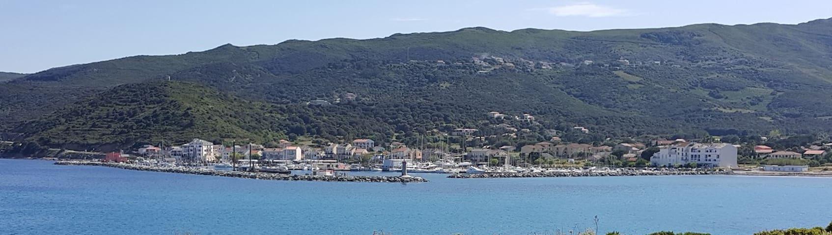Petit Studio sympa à 200m du port de Macinaggio D - Haute-Corse - Apartamento