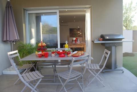 Villa Flamant rose 200m plage Cap/Grau d'Agde