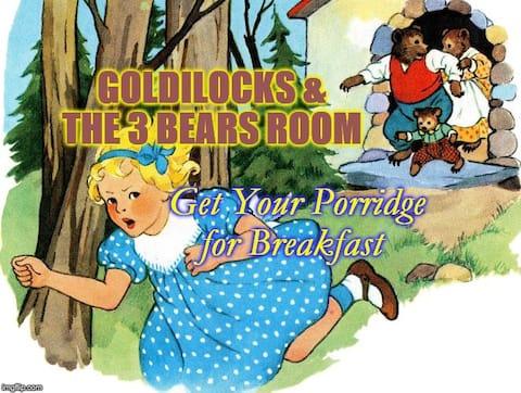 Goldie Locks & The 3 Bears