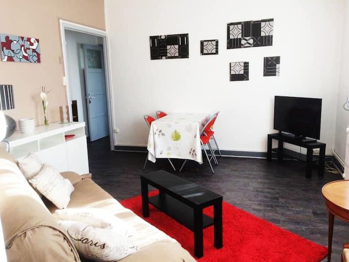 Appartement Dunkerque Centre très lumineux