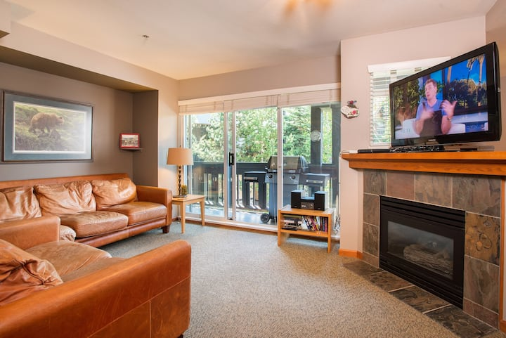 Updated 3BDR Townhome, Private Hot Tub, Pets, BBQ