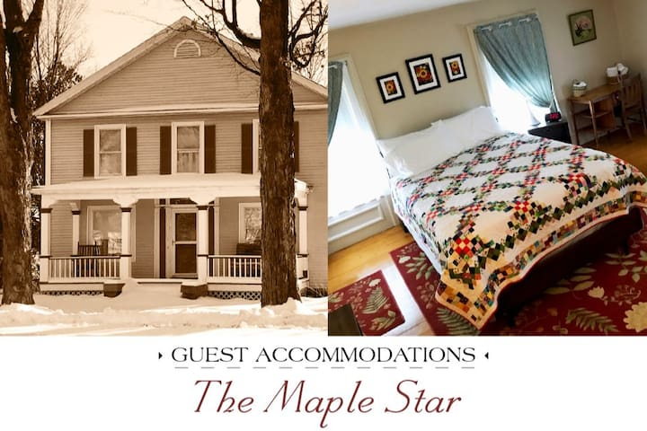 NEW Historic Village Charmer: MapleStar Guest Room