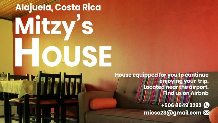 Mitzy's House for Rest near airport