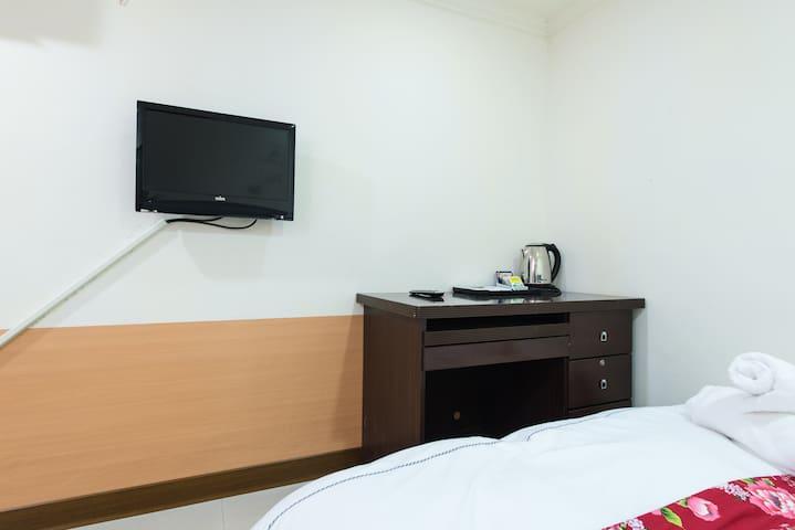 信義台北101窩標準雙人D房 Cozy 101 room D