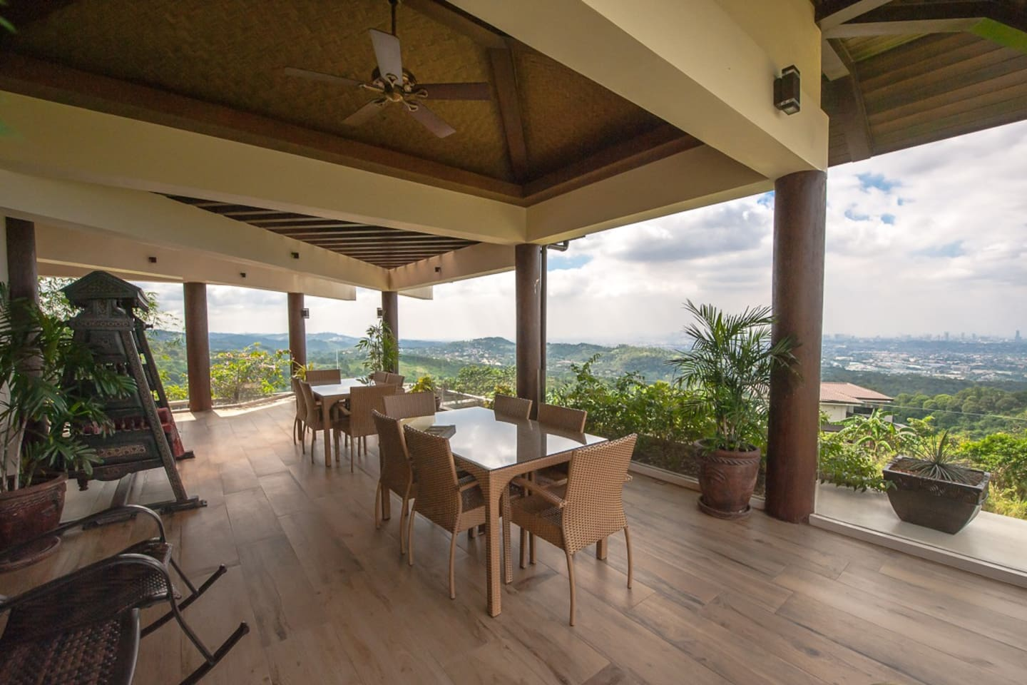 Rates include a hearty breakfast which is served on the front deck of the house.