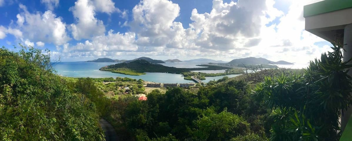 Breathtaking Island View Super Value Suite Tortola - Tortola - บ้าน