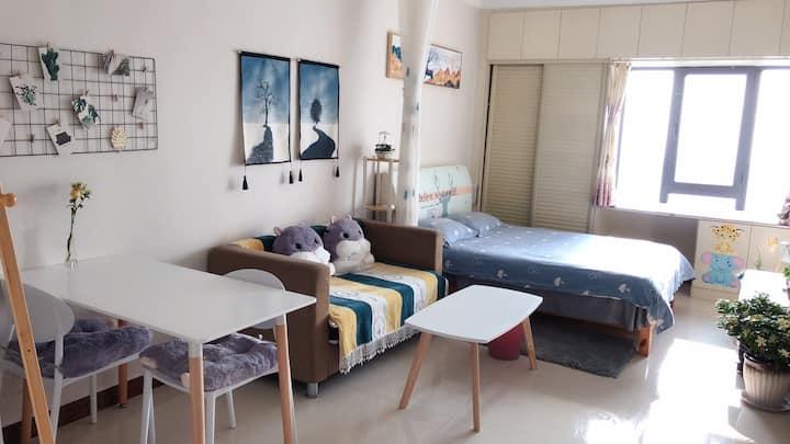 颐高上海街二期青春•派简约风格一居室3