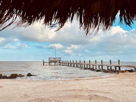 Private Beach & Pier, Magnolia Beach Matagorda Bay
