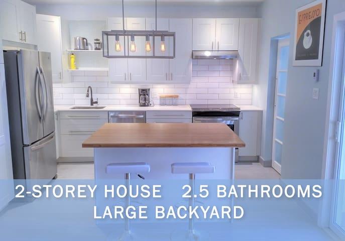 Bright & Modern! Ideal for business or pleasure! - Montréal - House