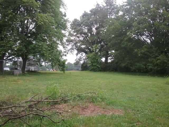 Tranquil Primitive Campsite in Dyersburg