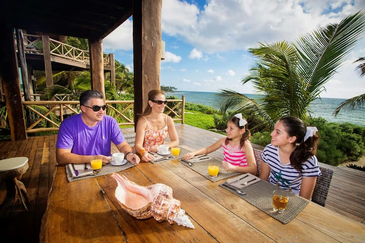 Private Room All Meals Included in a Luxury Villa - Quintana Roo - Villa