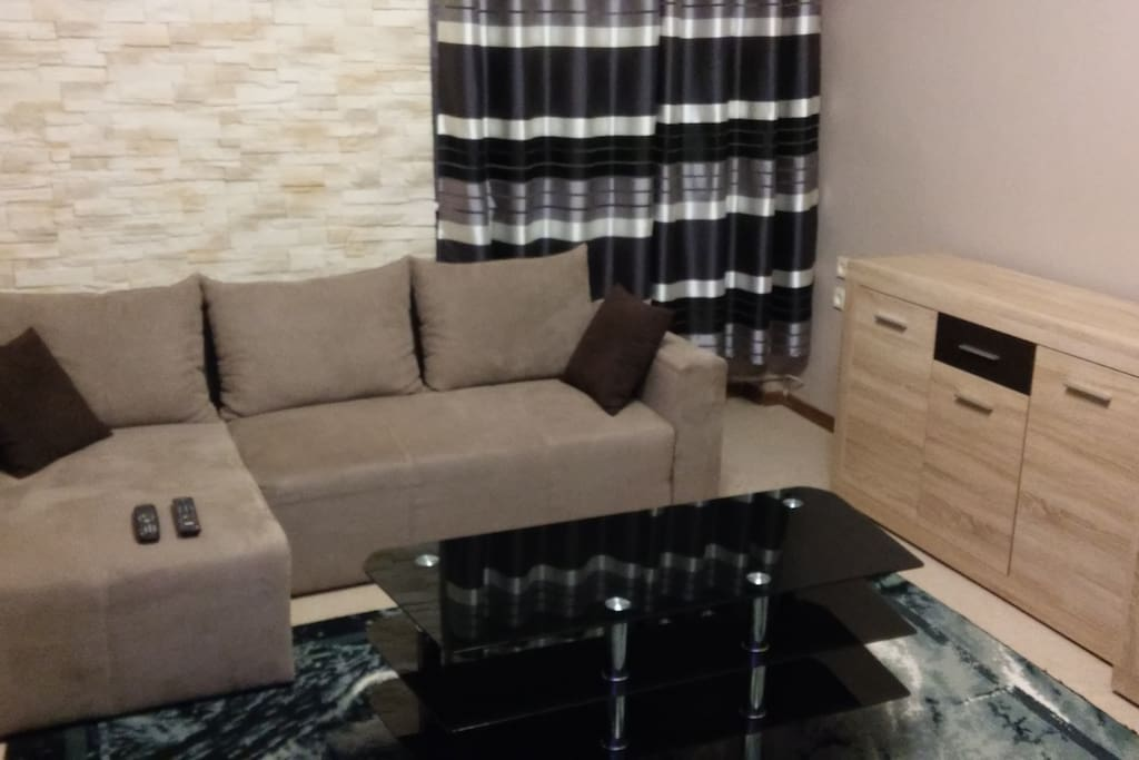 Large corner sofa - you can spread out and sleep comfortably