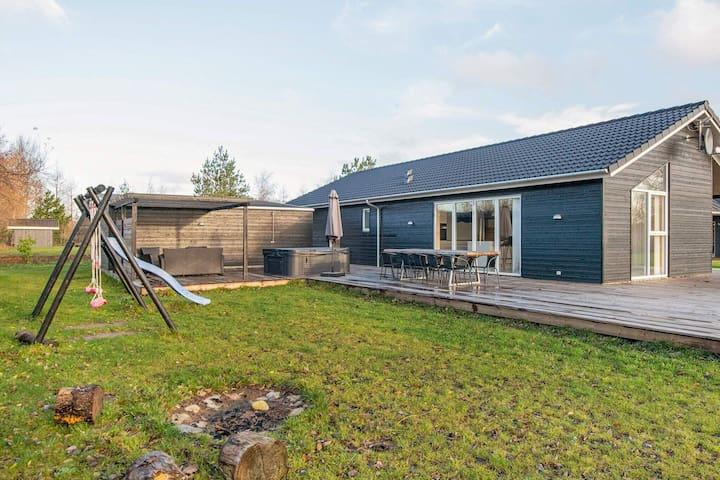 Spacious Holiday Home in Glesborg with Sauna